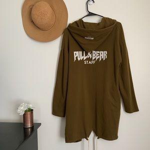 Pull&Bear Green Staff Jacket / Cardigan